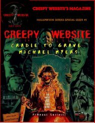 Creepy Website's Magazine Halloween Series Special Issue #1