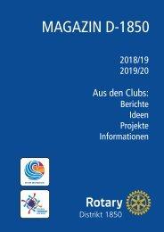 RC 1850 Distriktmagazin 2019/20