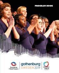 Gothenburg 2019 - Program Book