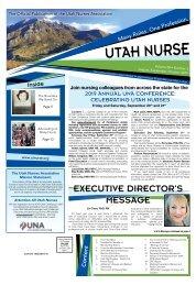 Utah Nurse - August 2019