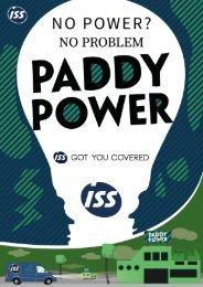 ISS Marketing Magazine - Paddy Power