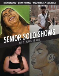 Senior Solo 2019 Catalogue