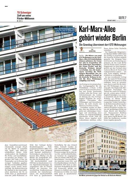 Berliner Kurier 16.07.2019