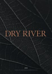 Dry River 2018 annual magazine