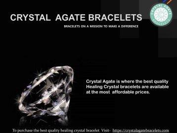 Handmade Healing Crystal Bracelets.