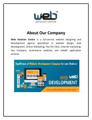Website Development Company In Delhi, India