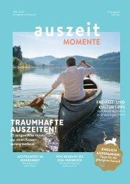 Auszeit-Momente Ausgabe Ruhrgebiet und Münster 19/20