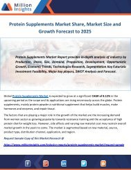 Protein Supplements Market Share, Market Size and Growth Forecast to 2025