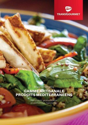 Gamme artisanale de produits méditerranéens Mavrommatis
