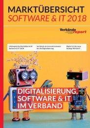 Marktübersicht 2018 - Digitalisierung, Software & IT im Verband