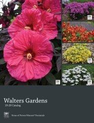 2019-2020 Walters Gardens Catalog