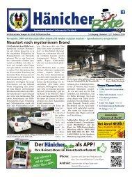 Hänicher Bote | Februar-Ausgabe 2018