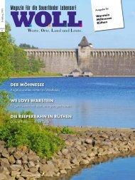 WOLL Magazin für Warstein Möhnesee Rüthen Frühling 2019