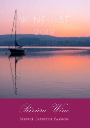 Riviera Wine - Wine List English 2019