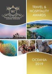 Travel & Hospitality Awards | Oceania 2019 | www.thawards.com