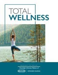Jacuzzi Saunas Total Wellness eBook