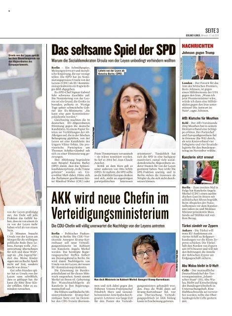Berliner Kurier 17.07.2019