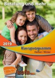 SOFA-PROGRAMM HERBST - WINTER 19/20