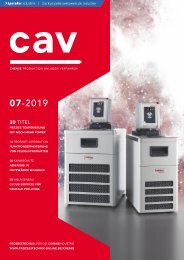 cav – Prozesstechnik für die Chemieindustrie 07.2019