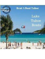 Best Lake Tahoe Boats