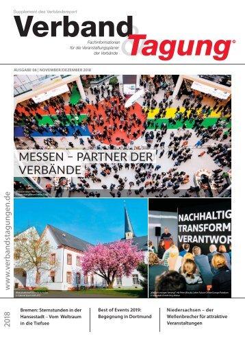 Verband & Tagung - Verbändereport 8/2018
