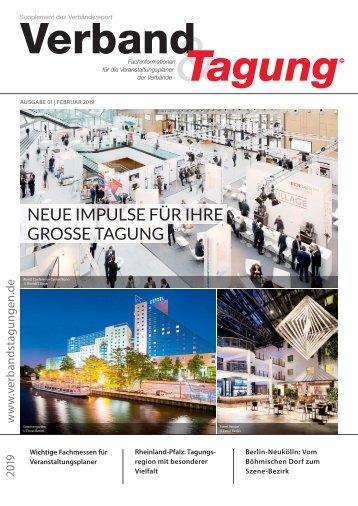 Verband & Tagung - Verbändereport 1/2019