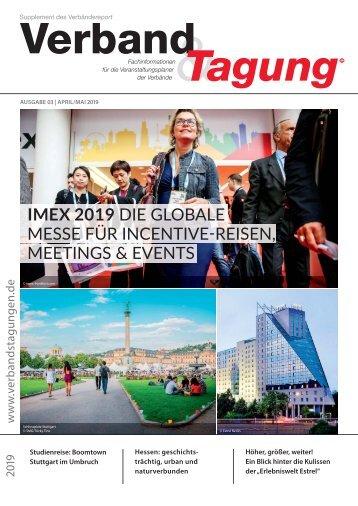 Verband & Tagung - Verbändereport 3/2019