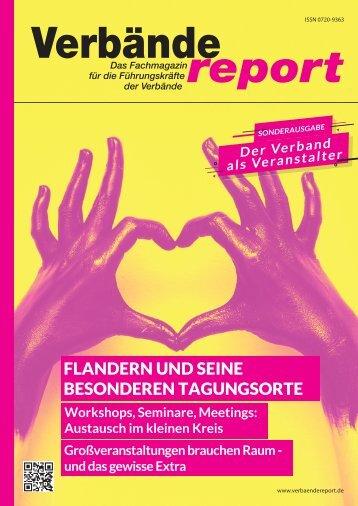 Verband & Tagung - Verbändereport 4/2019
