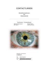 """Die """"andere"""" Art Contactlinsen zu tragen - TECHNO-LENS ..."""