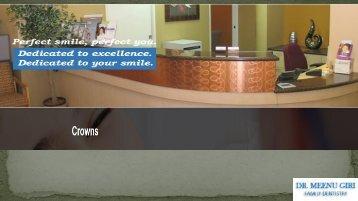 Dental Crowns Fremont - Dr. Meenu Giri Family Dentistry Fremont