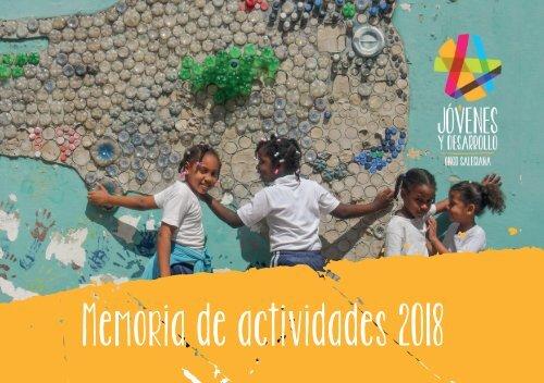 Memoria Jóvenes y Desarrollo 2018