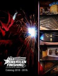 All American Finishing Catalog 2018 - 2019