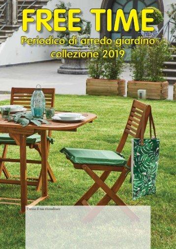 VOLANTINO FREE TIME ARREDO GIARDINO COLLEZIONE 2019