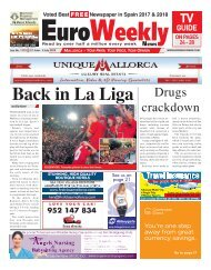 Euro Weekly News - Mallorca 18 - 24 July 2019 Issue 1776