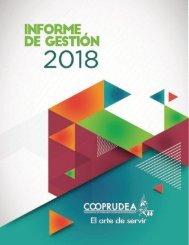 Informe Gestion 2018 Cooprudea