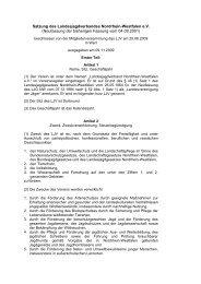 satzung ljv.pdf - Landesjagdverband Nordrhein-Westfalen