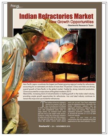 Indian Refractories Market - Steelworld