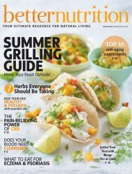 Better Nutrition August 2019