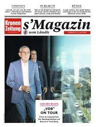 s'Magazin usm Ländle, 21. Juli 2019