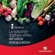 e-Quilibre, la solution digitale alliée de votre restauration
