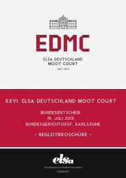 ELSA Deutschland Moot Court_ Broschüre 2019