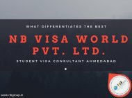 Study Abroad Student Visa Consultants in Ahmedabad: NB Group