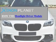 BMW headlight control unit by XenonPlanet