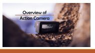 Overview Of 4k Action Camera and Best mini camcorder PDF