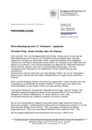 pressemeldung - Landesjagdverband Nordrhein-Westfalen