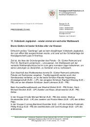 Volksbank Jagdpokal - Landesjagdverband Nordrhein-Westfalen