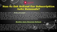 How to Get Refund for Subscription Auto Renewals ☏0800 368 9219