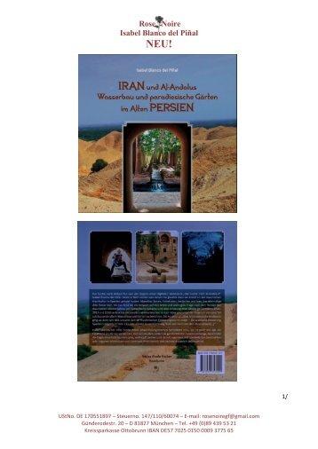 NEU! IRAN und Al-Andalus - Wasserbau und paradiesische Gärten im Alten Persien