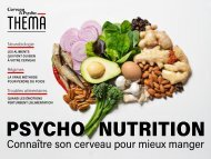 Thema n°14 Psychonutrition