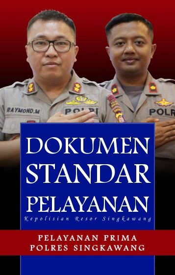 STANDAR PELAYANAN POLRES SINGKAWANG 2019